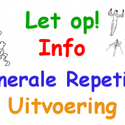 Heren 3 in generale repetitie